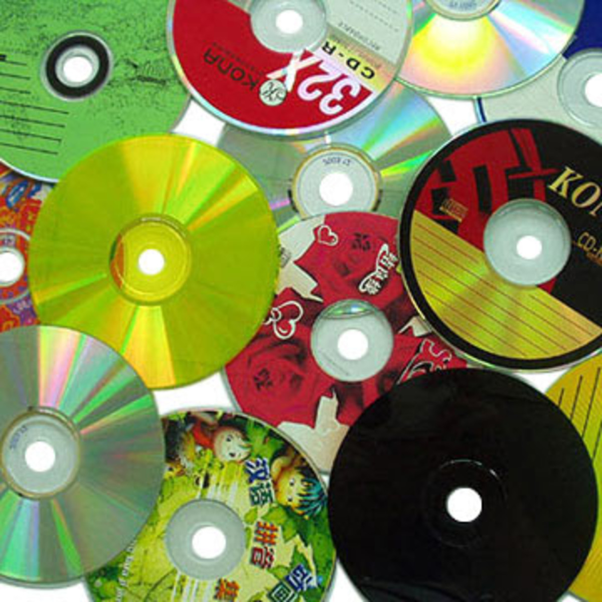In this lesson, compact disc is utilized as storage for  the recorded video file of the students.