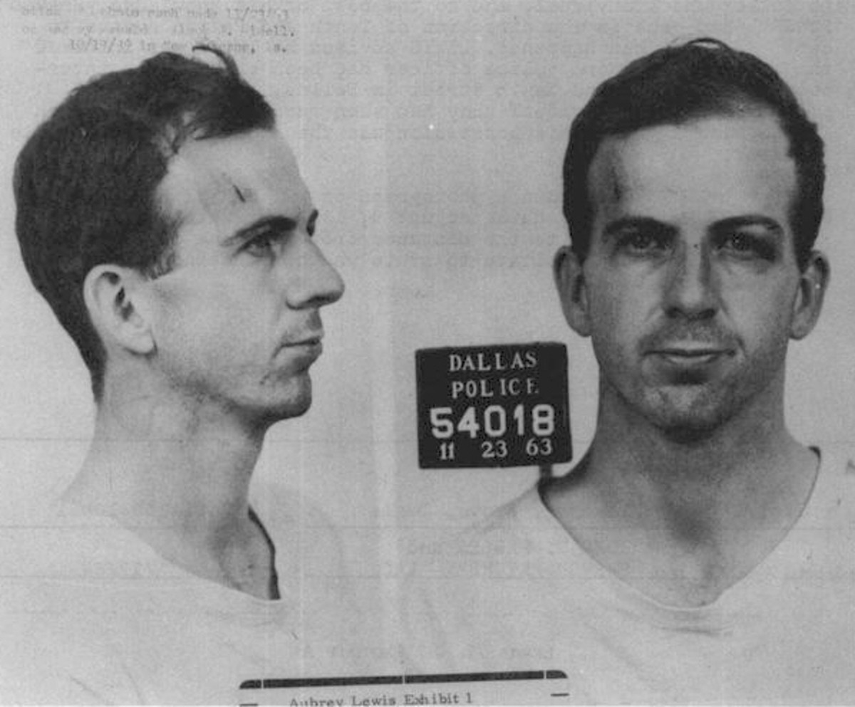 Lee Harvey Oswald Arrest Photo