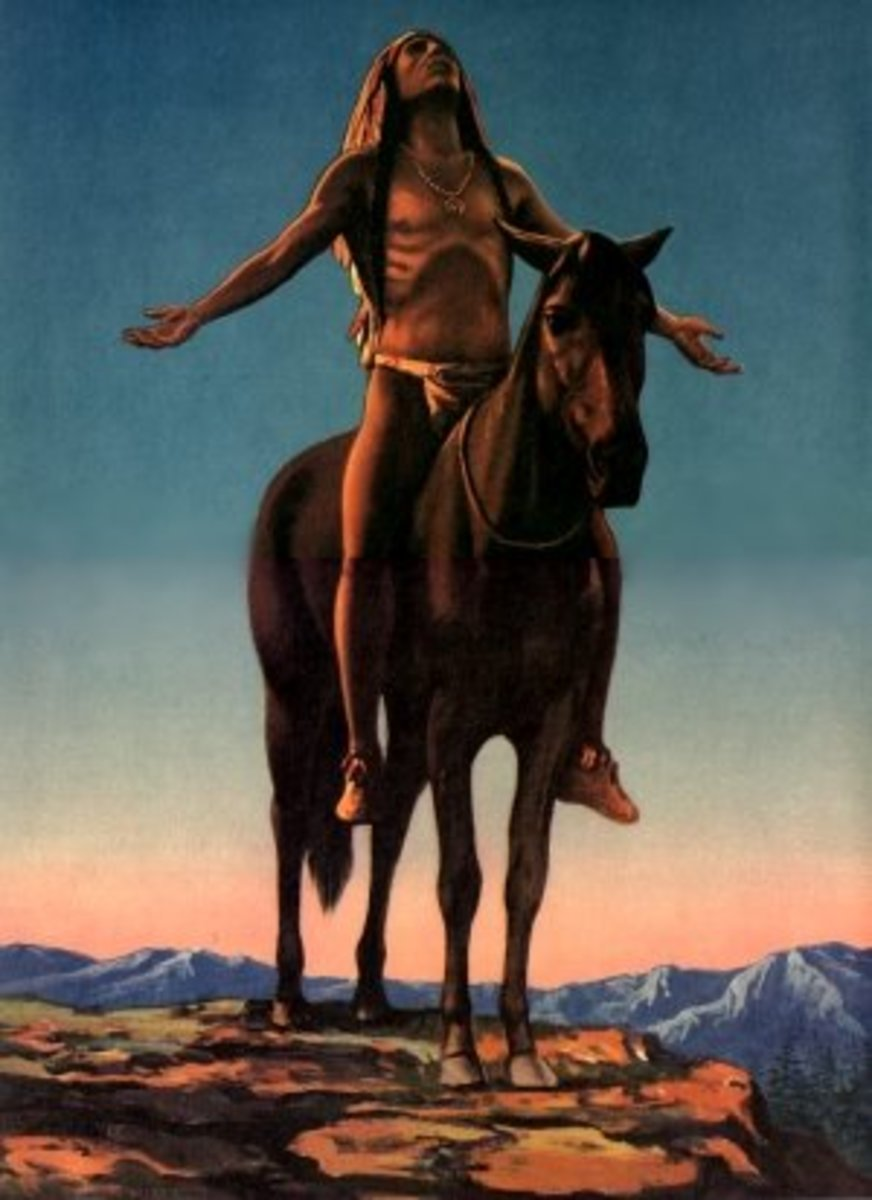Appeal to the Great Spirit by Cyrus E. Dallin (1861-1944)