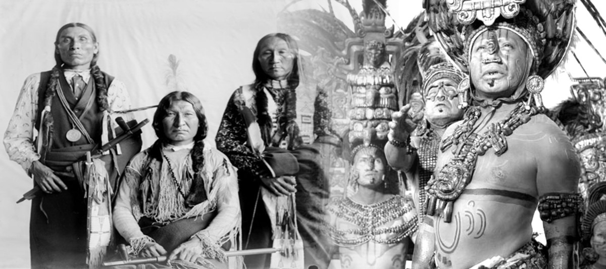 North American Native Americans and Mayans.