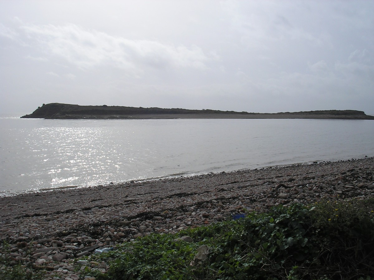 Sully Island as viewed from Swanbridge