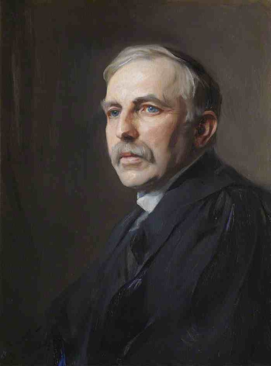 Ernest Rutherford (1871-1937) known for his Gold Foil Experiment and known as  the Father of Nuclear Physics.