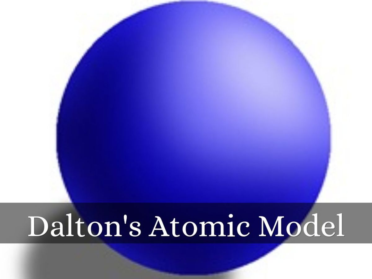 All matters is made up of minute, discreet, indivisible, and indestructible particles called atoms.