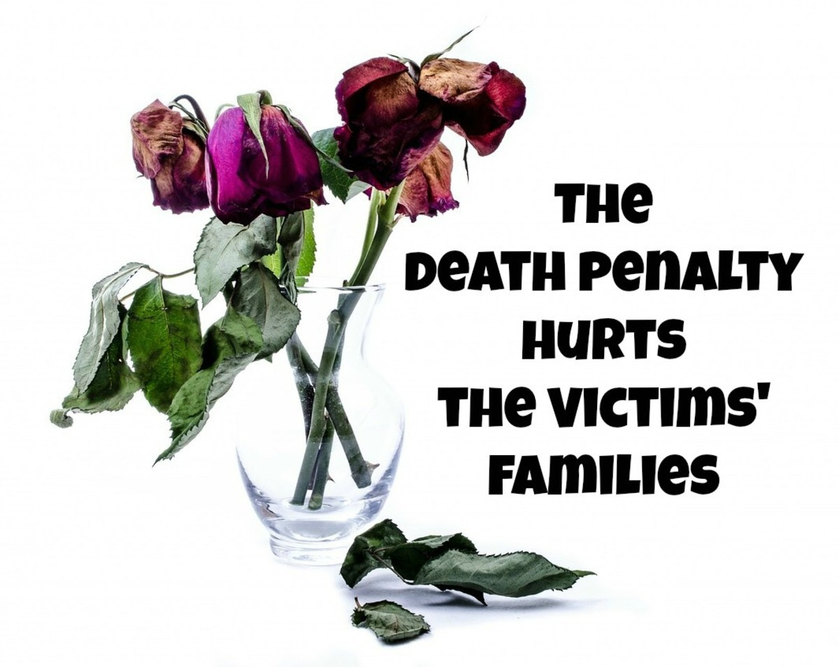 The death penalty does not bring closure to the victims' families.