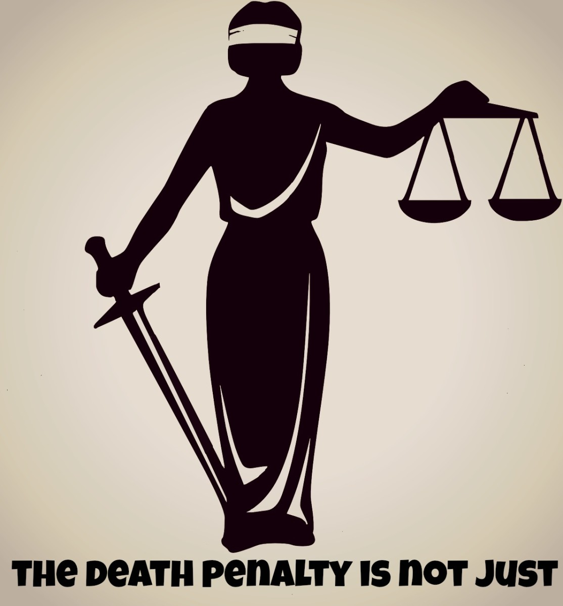 The death penalty isunfair, unjust, and immoral.