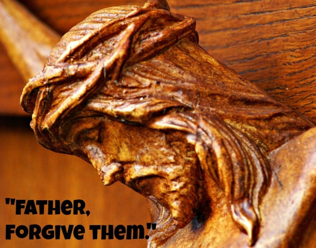 Jesus asked for forgiveness, not for justice or vengeance.