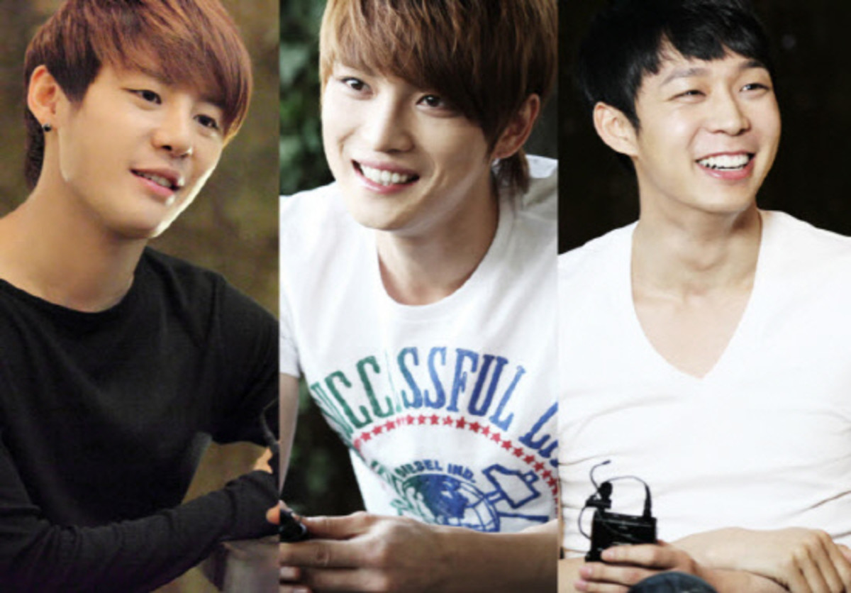 The three members of DBSK that sued SM to be released of their 13-year contract.