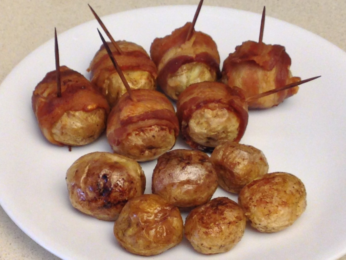 Baby Bakers and bacon-wrapped baby bakers