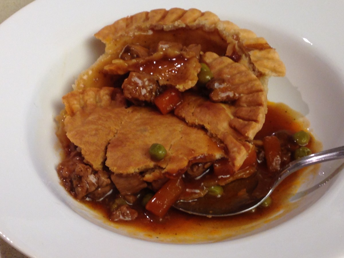 Sirloin Beef Pot Pie