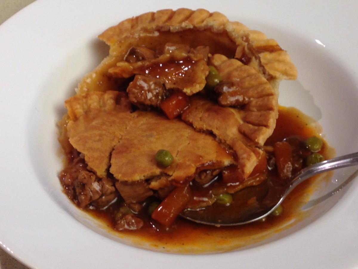 Sirloin Beef Pot Pie