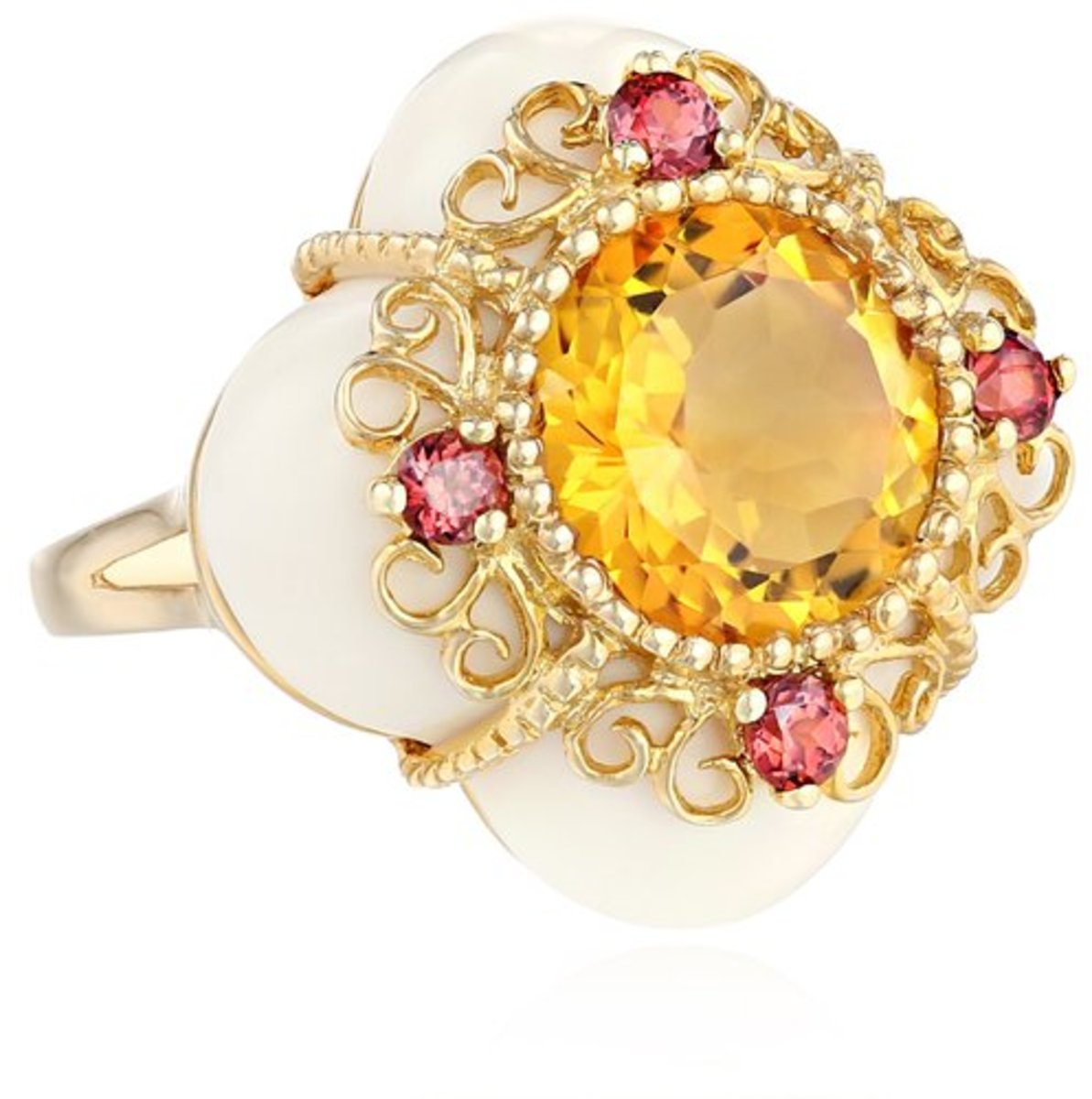 November Birthstone Citrine and Topaz Gift Ideas for November Born Girls