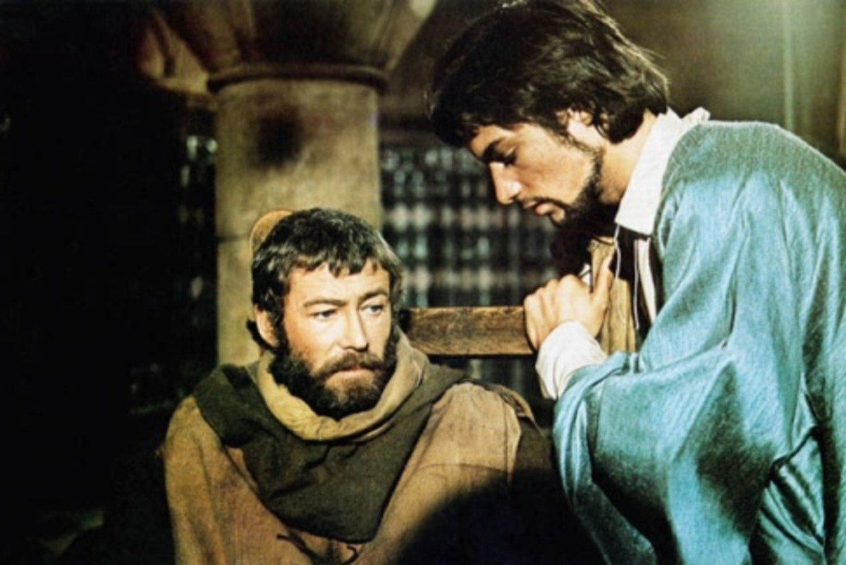 Henry II (Peter O'Toole) and Philip II Augustus (Timothy Dalton)
