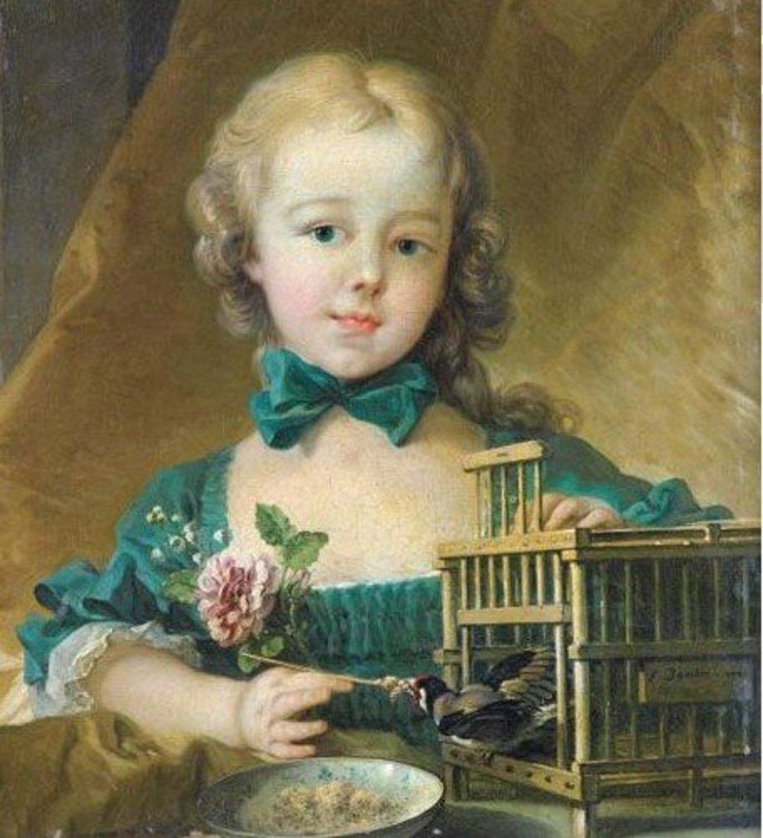 Child Marie Antoinette