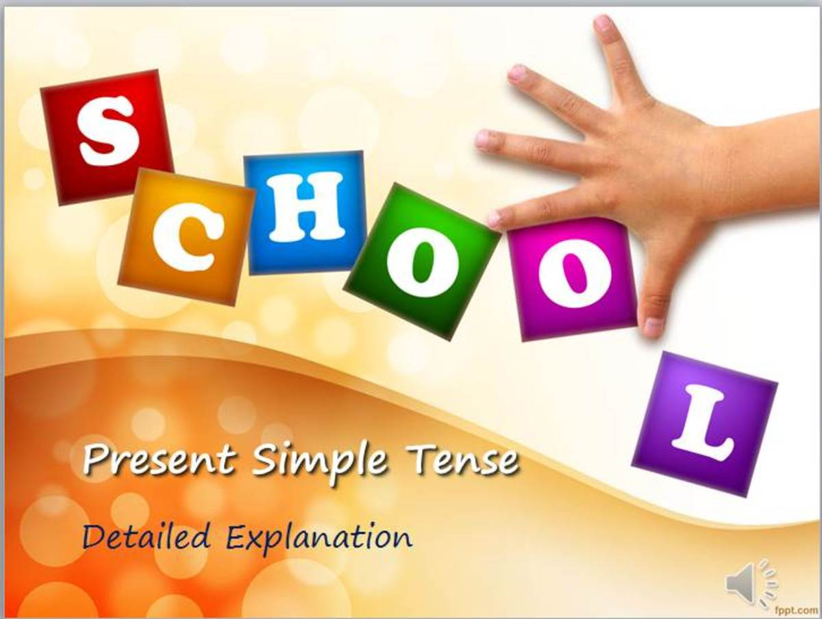 Present Simple Tense or Present Indefinite Tense