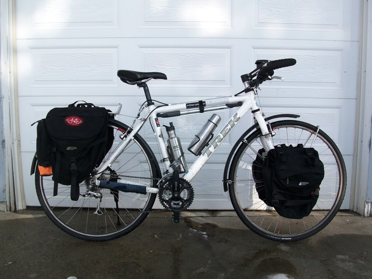 A Trek 7500 hybrid loaded. Link here is to a forum.