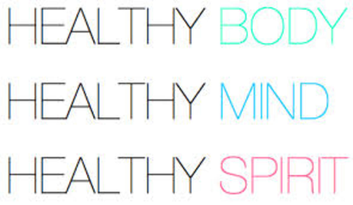 The rules of healthy living must become a part of our whole plan of living.
