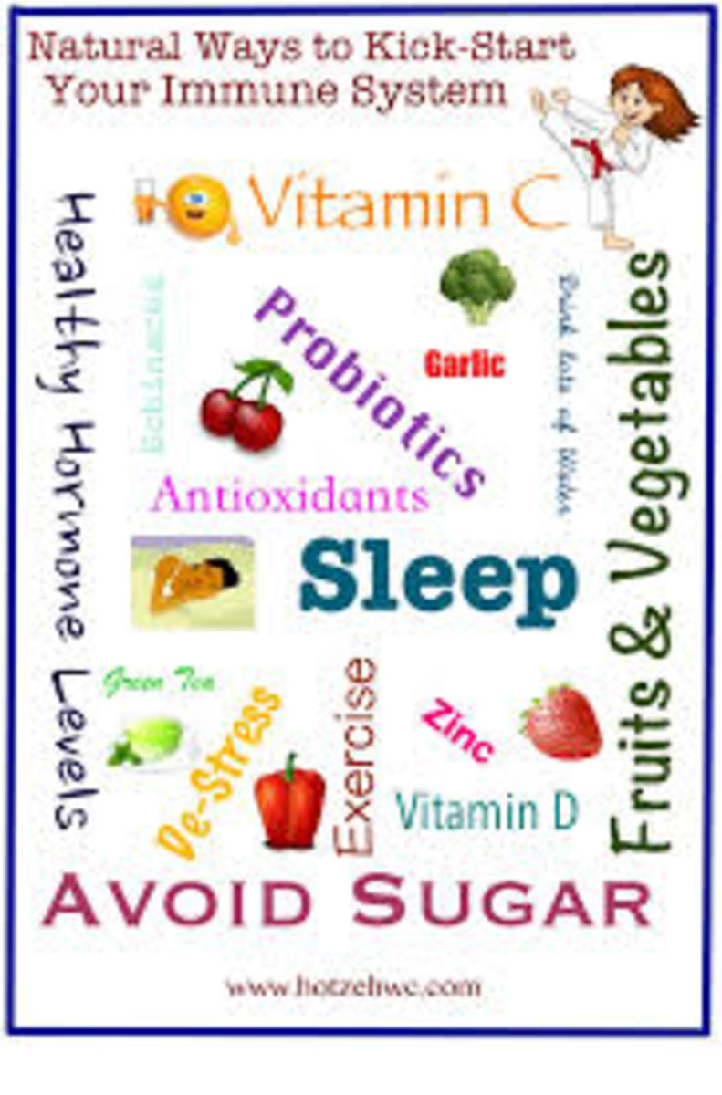 Natural remedies that everyone can use are sunlight, fresh air, pure water, rest, exercise and a well-balanced diet.