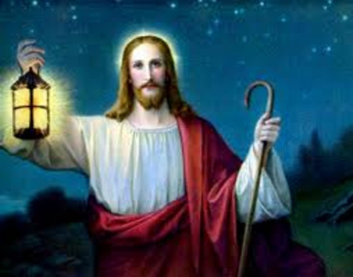 I am the Light of the World: he that followeth Me shall not walk in darkness, but shall have the light of life.