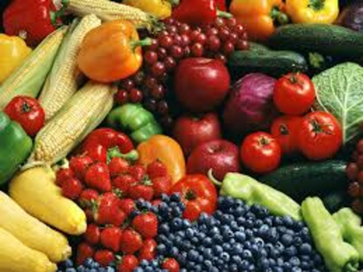 What you eat forms the foundation of your health. Variety and discretion in your choice of foods is important.