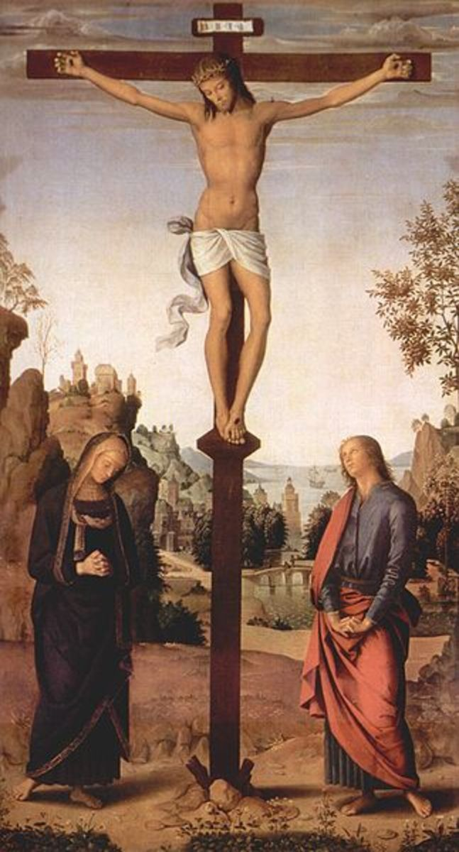 Jesus' crucifixion is believed to by Christians to be his ultimate sacrifice for the sake of humanity's sins.
