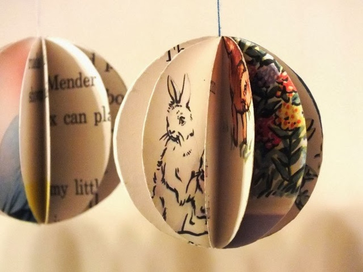 Children's Book Pages Ornament