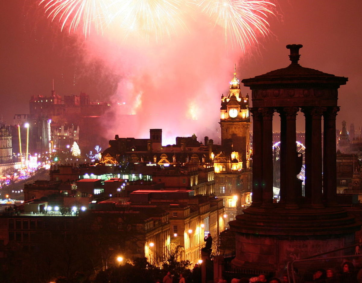 New Year's Eve, Edinburgh