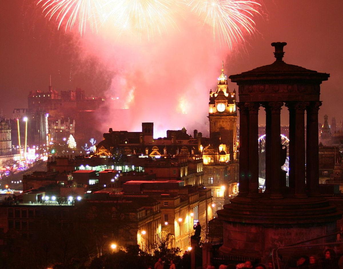 New Year's Eve, Edinburgh