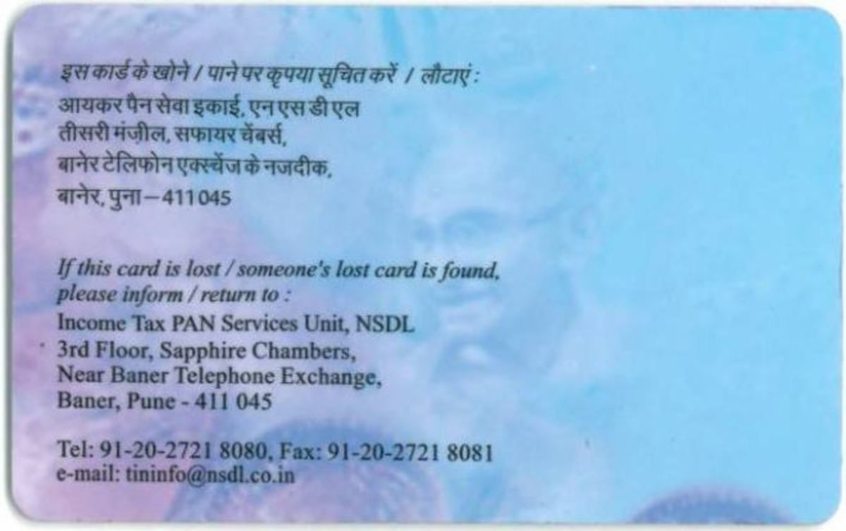 How To Get Pan Card In India Information On Application