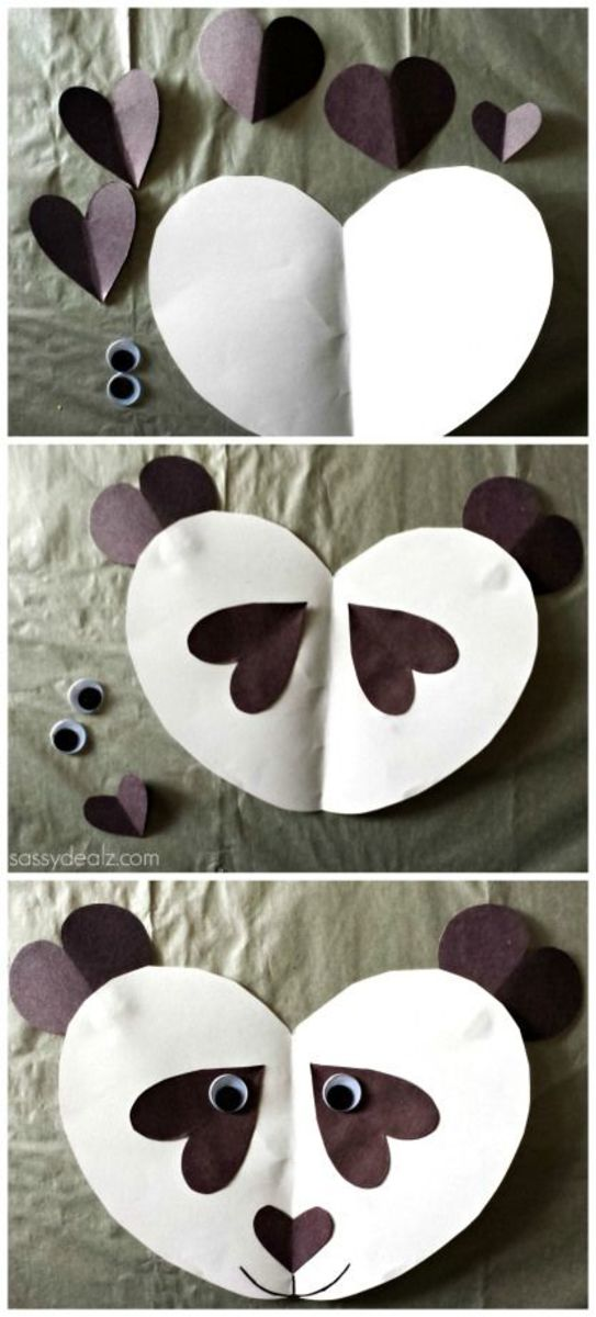 Easy  DIY Valentine's Day Crafts for Kids to Make