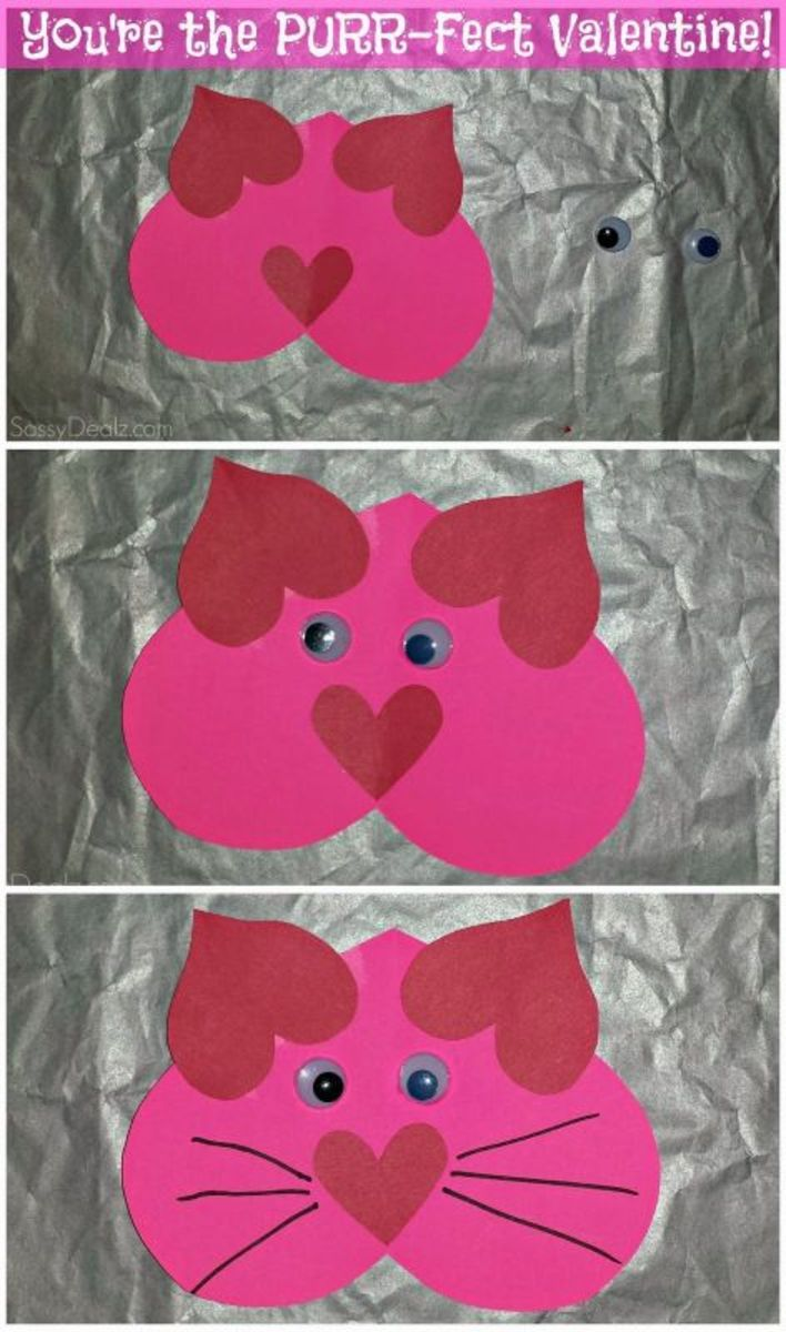 Easy Diy Valentine S Day Crafts For Kids To Make Hubpages