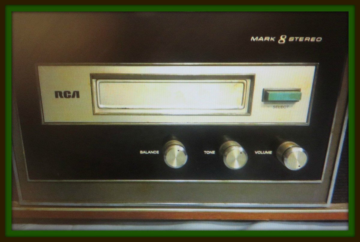 RCA made many 8 track player, the Mark 8 was a great commercial success and for 1969 had many wonderful innovations with its wonderful built in speakers for portable listening.