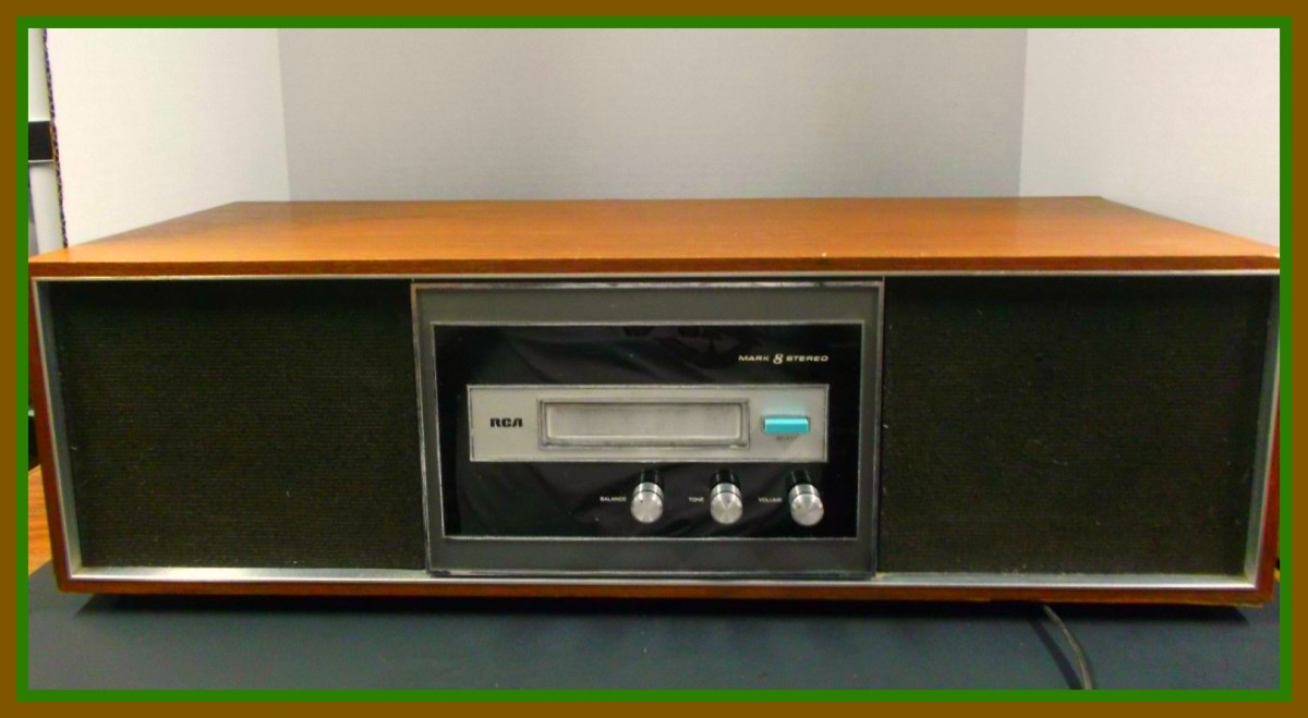 The original 1969 RCA YZD 590 series 8 track tape player stereo system was built to stand the test of time.