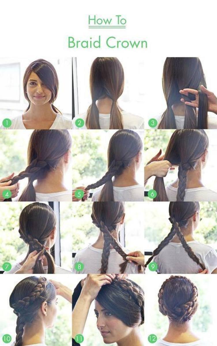 How to Make a Braid Crown