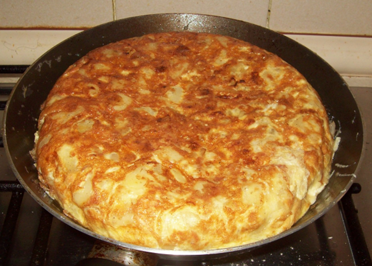 Spanish Omelette ready to eat hot or cold