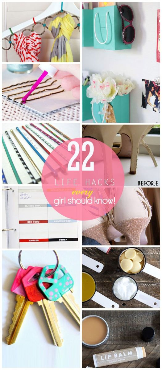 Life Hacks Every Girl Should Know