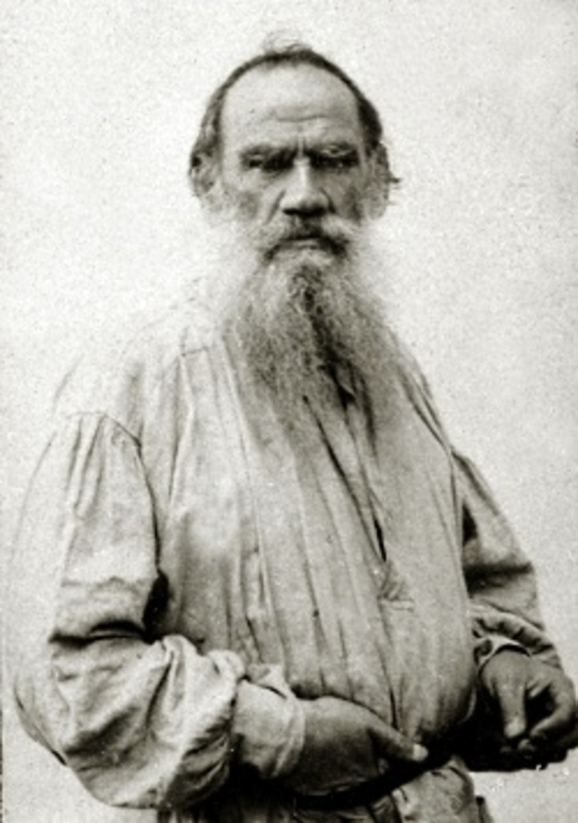 "Leo Tolstoy of ""War and Peace"" fame is considered by many to be the Grandaddy of the modern civil disobedience movement."