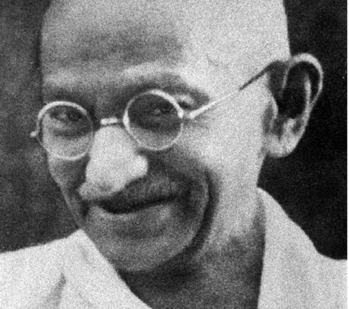 """Martin Luther King called Gandhi the greatest Christian of the modern world, even though Gandhi was a Hindu.  Gandhi said """"I like your Christ, I do not like your Christians.  Your Christians are so unlike your Christ."""""""
