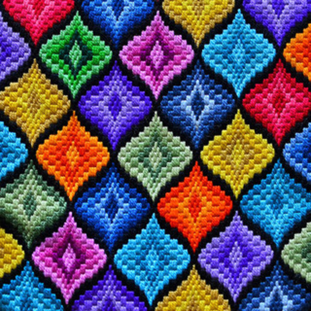 Bargello Diamonds