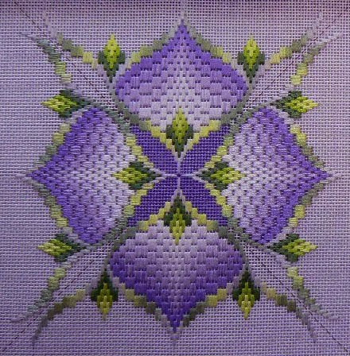 Learn Bargello Stitch - Make Beautiful Designs on Canvas