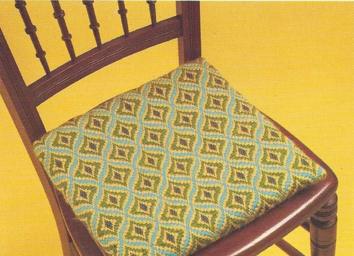 Bargello Chair Seat