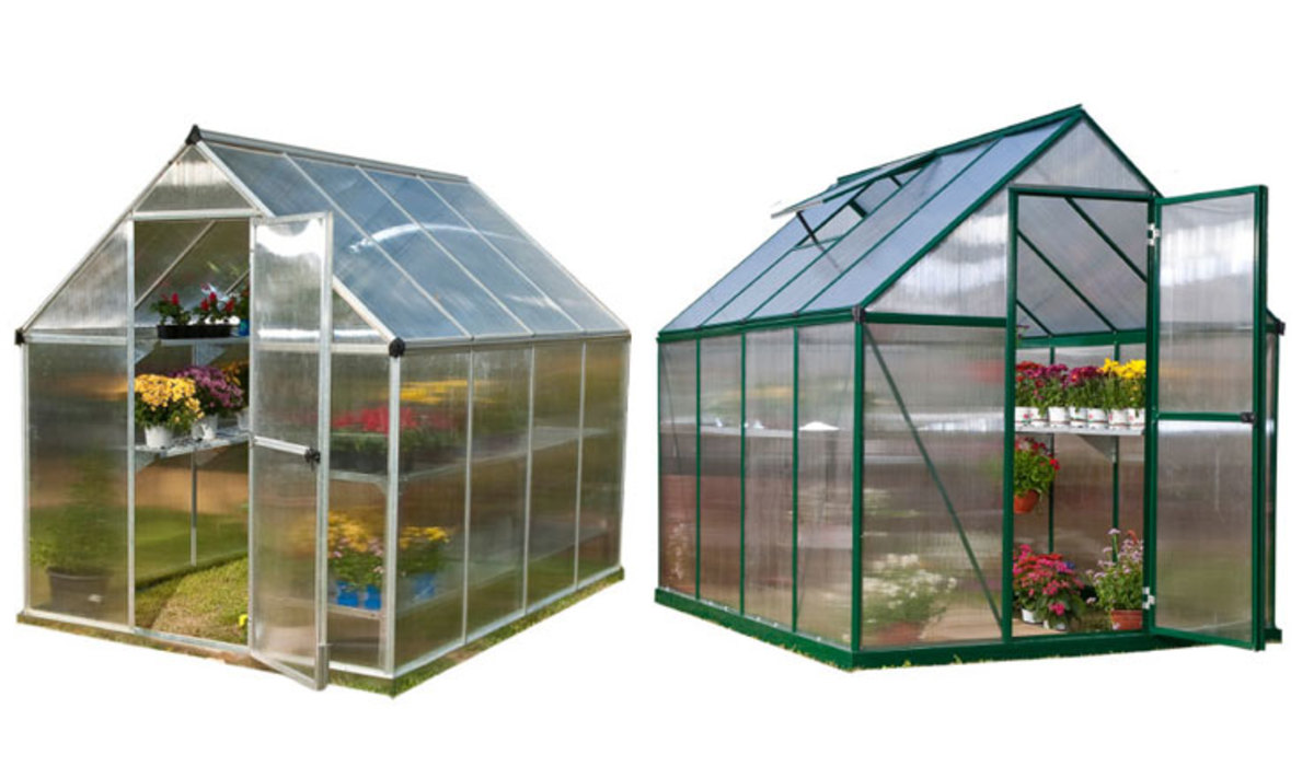 Ready made greenhouses