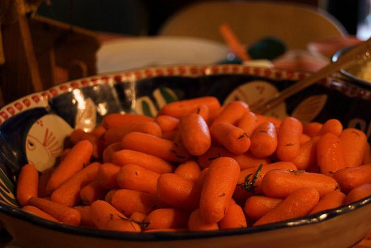 Delicious carrots.