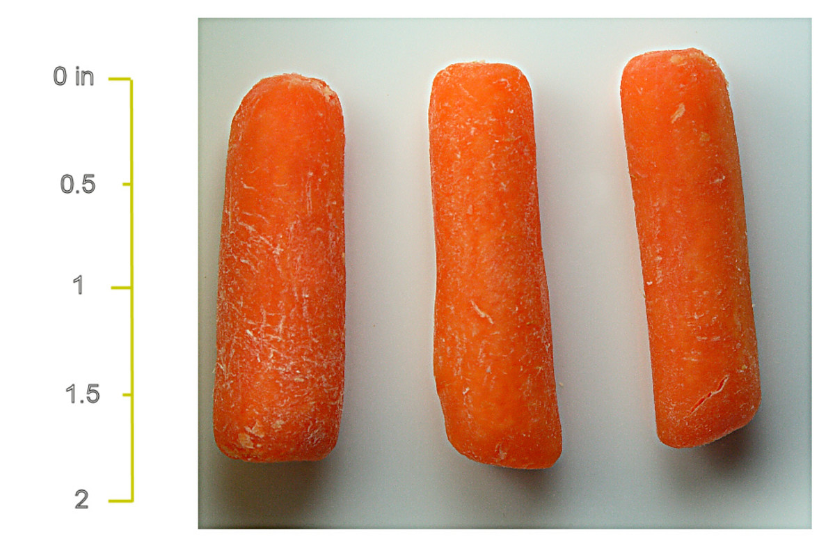 Why Baby Carrots Are Killing You - Not!