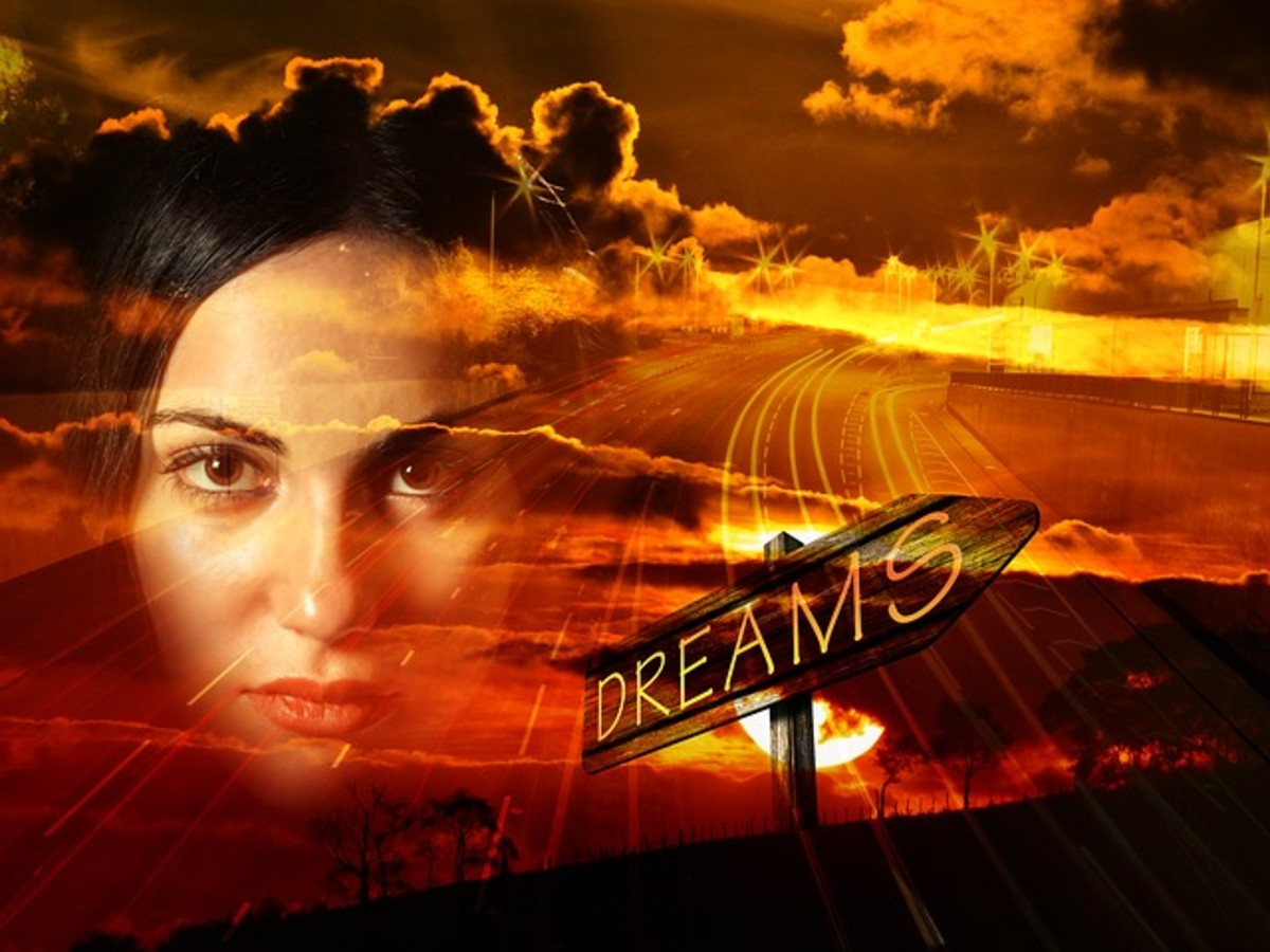 What are dreams? - they take us to places filled with images, sights and sounds