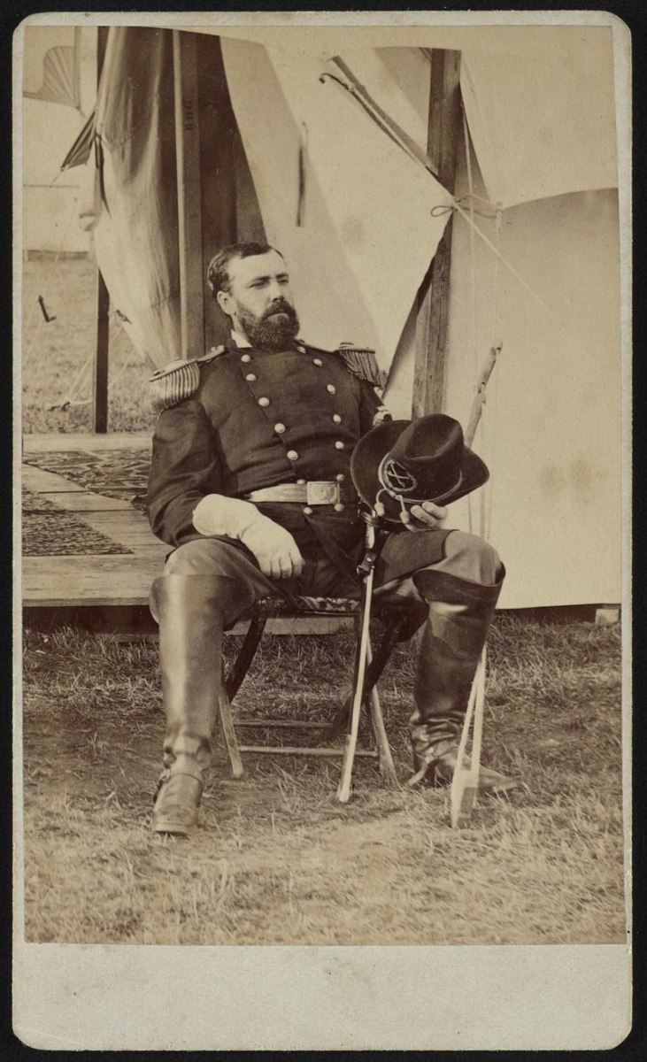 Eugene Asa Carr led the 4th Division of the Army of the Southwest.