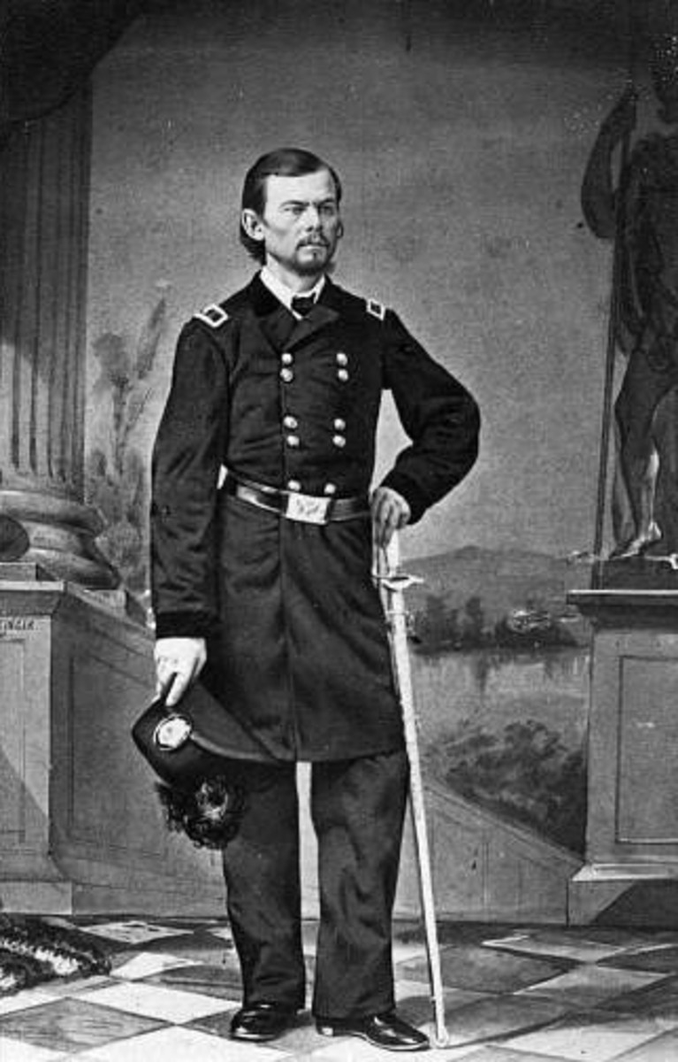 Franz Sigel challenged Curtis for command of Union troops, he would lead the German troops under  at Pea Ridge