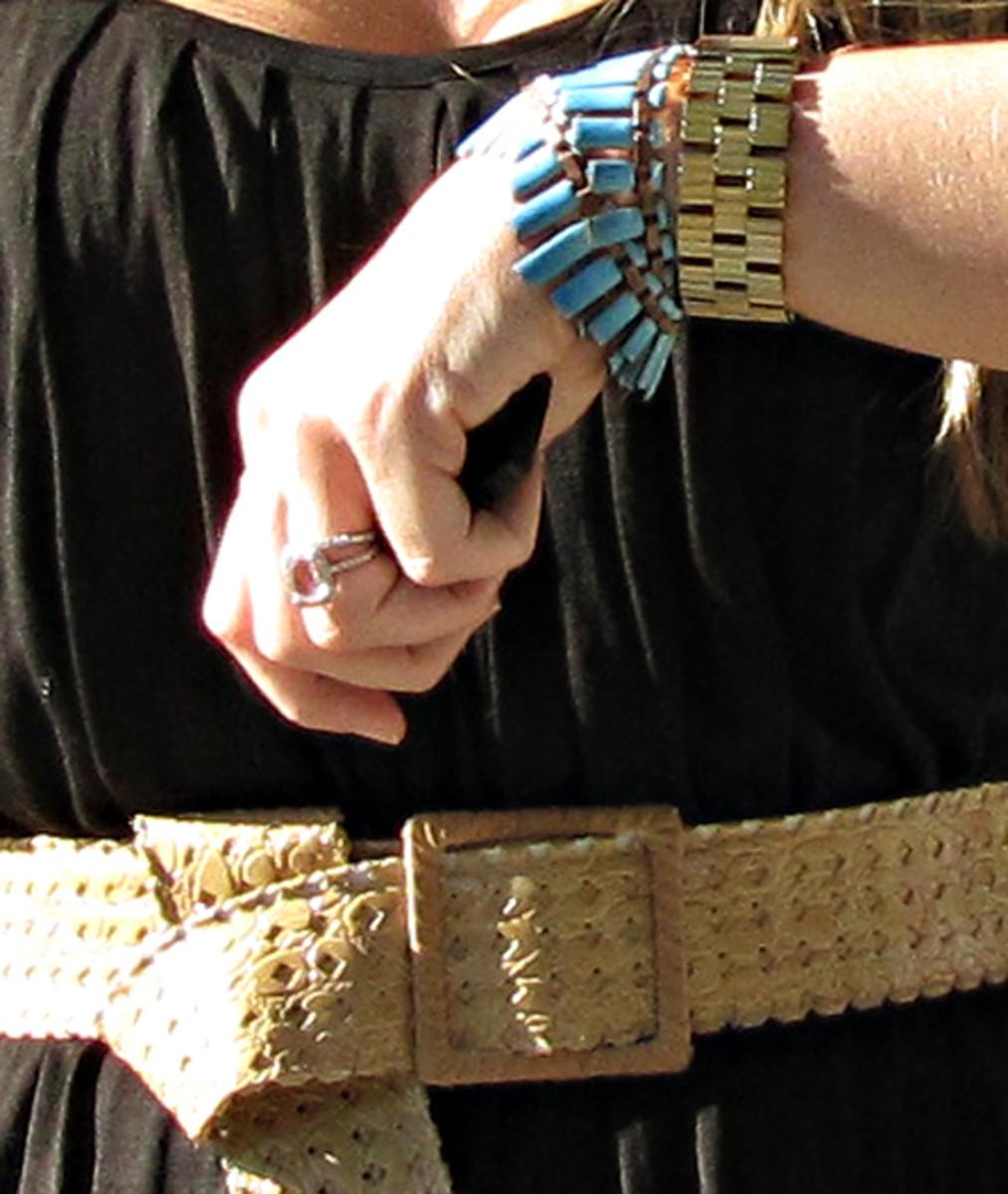 Jewelry to wear with a black dress