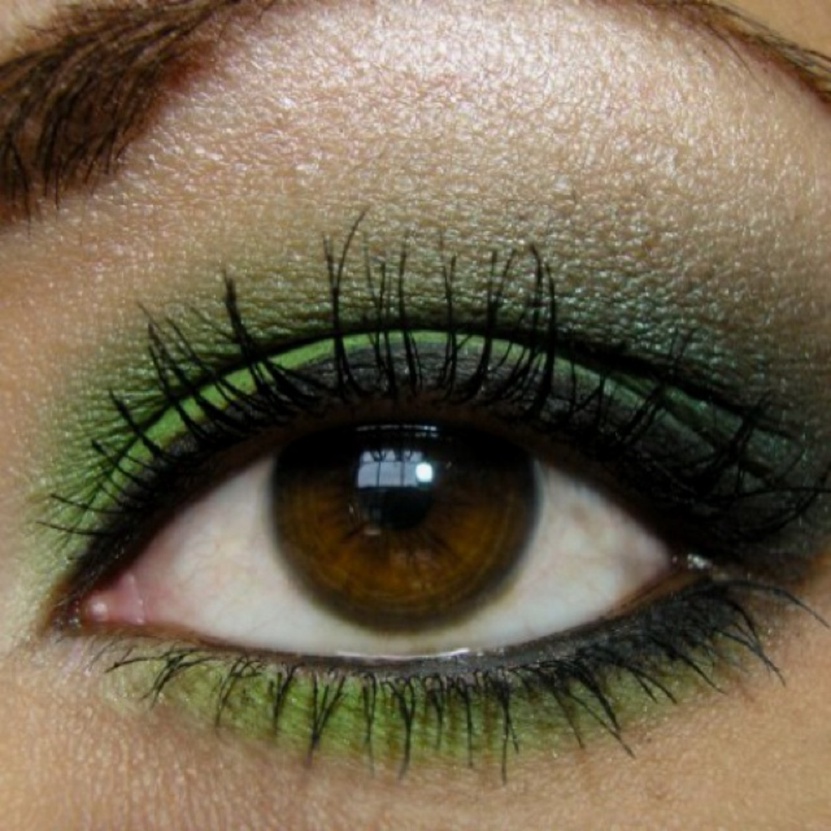Click Pic for 15 St Patricks Day Makeup Ideas | Step by Step Eye Makeup Tutorials for Beginners