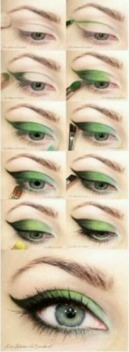 Awesome St Patrick's Day Eye Makeup Ideas