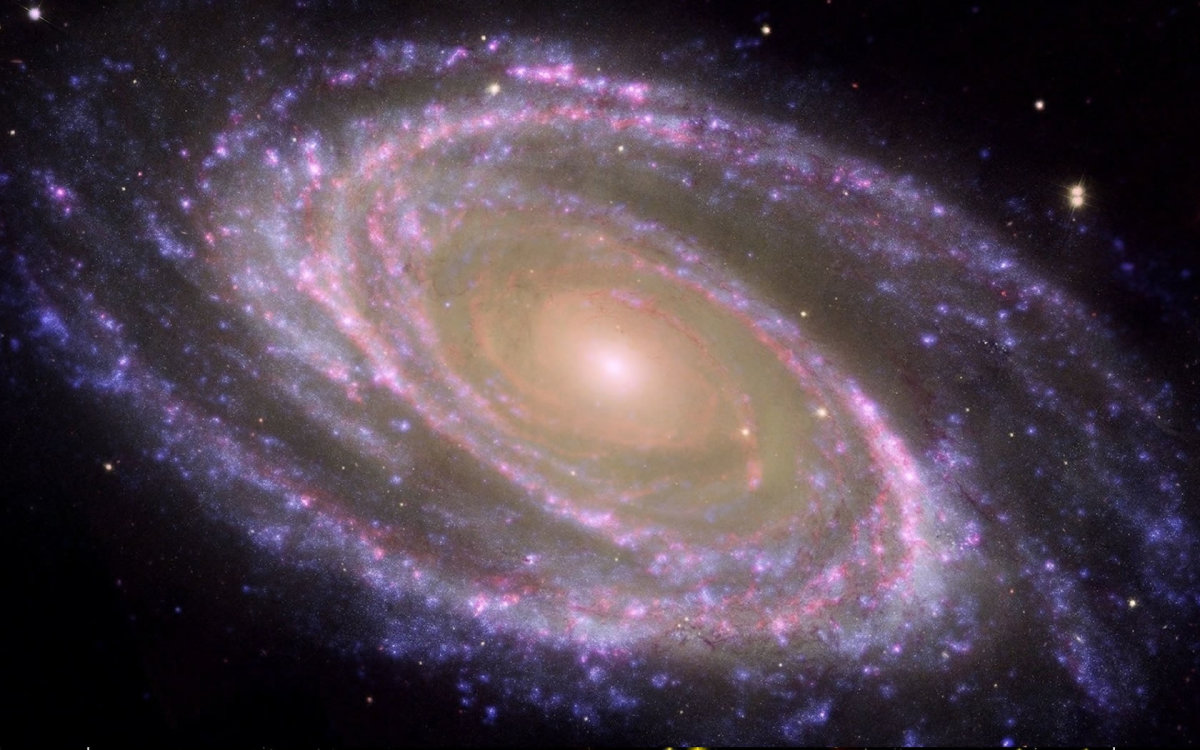 Viewing photographs of our Galaxy it is easy to see The Infinite Harmony of God.